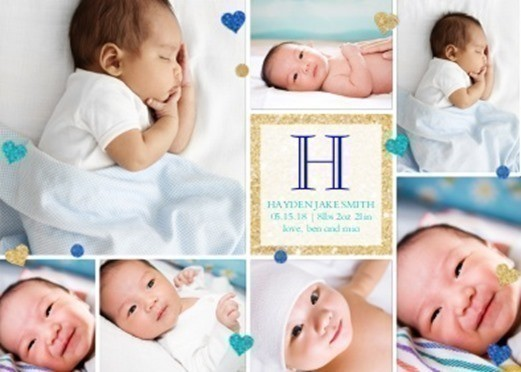 Walgreens Custom Photo Greeting Cards as low as 37 FREE Same – Walgreens Birth Announcements