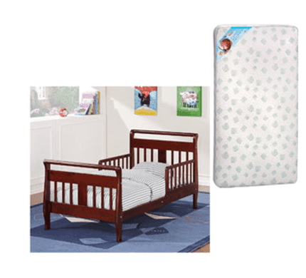 Walmart Toddler Bed Amp Kolcraft Mattress Combo Just 85