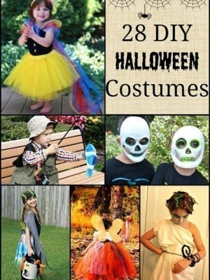 28 DIY Halloween Costumes