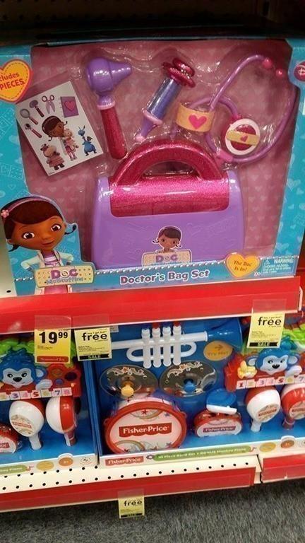 CVS: B1G1 FREE Toys = Great Deal on Frozen, Doc McStuffins $10 each or Less