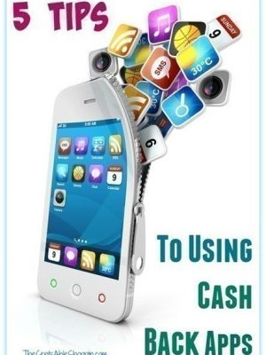 5 Tips to Using Cash Back Apps