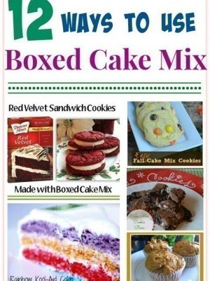 12 Ways to Use Boxed Cake Mix {+ Store Deals}