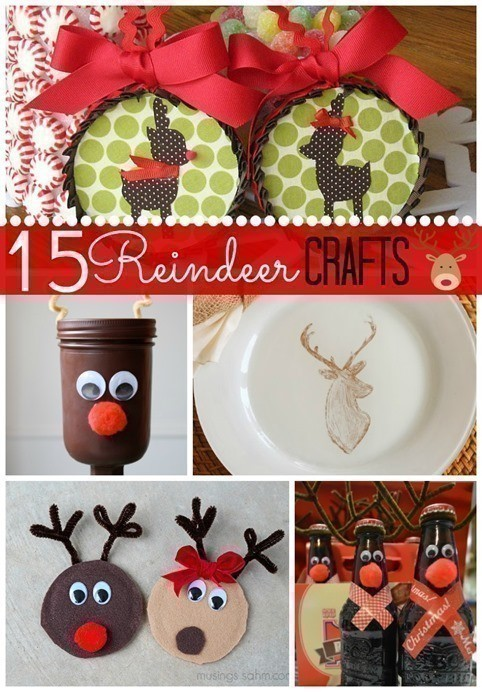 15 Reindeer Crafts