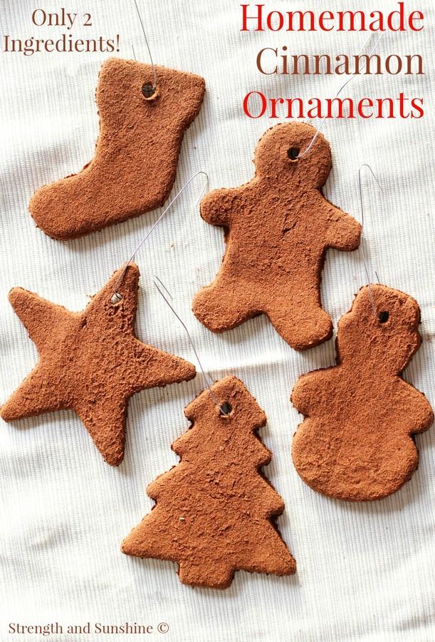 Homemade Cinnamon Ornaments - Strength and Sunshine
