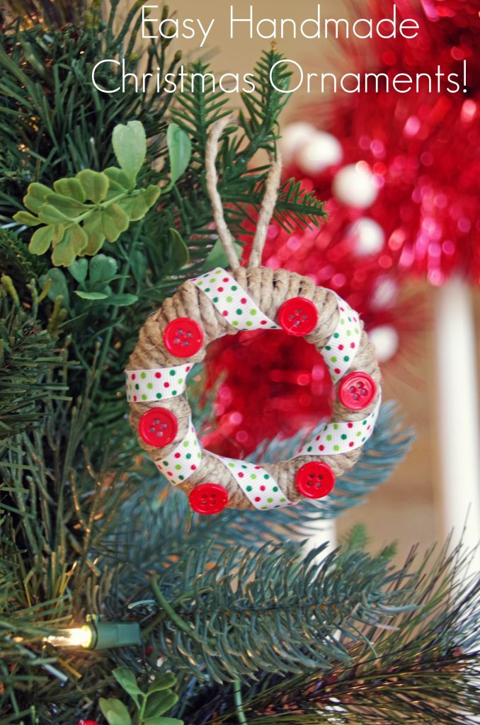 Easy Handmade Christmas Ornaments with Mason Jar Lids -Suburbia Unwrapped
