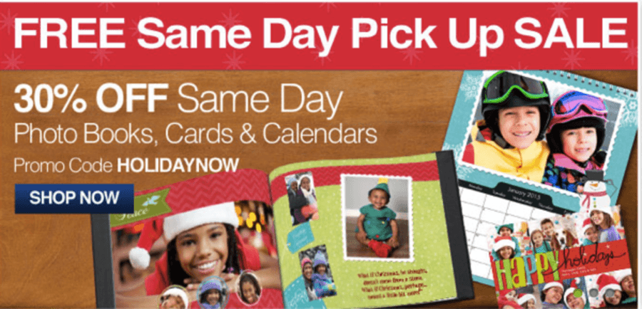 If you still need some personalized gifts for the Grandparents, head over to CVS & score 30% OFF Same Day Photo Books, Cards & Calendars with code ...