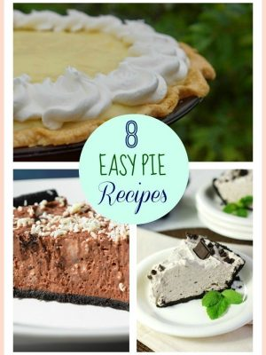 8 Easy Pie Recipes | Apple, Mocha Cream & More