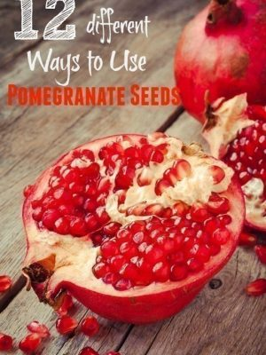 12 Different Ways to Use Pomegranate Seeds