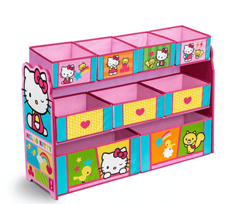 Hello Kitty Toy Bin : Toys r us hello kitty deluxe bin toy organizer just