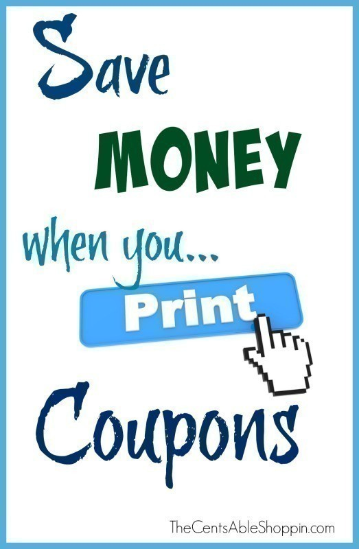 Save Money when you Print Coupons - The CentsAble Shoppin