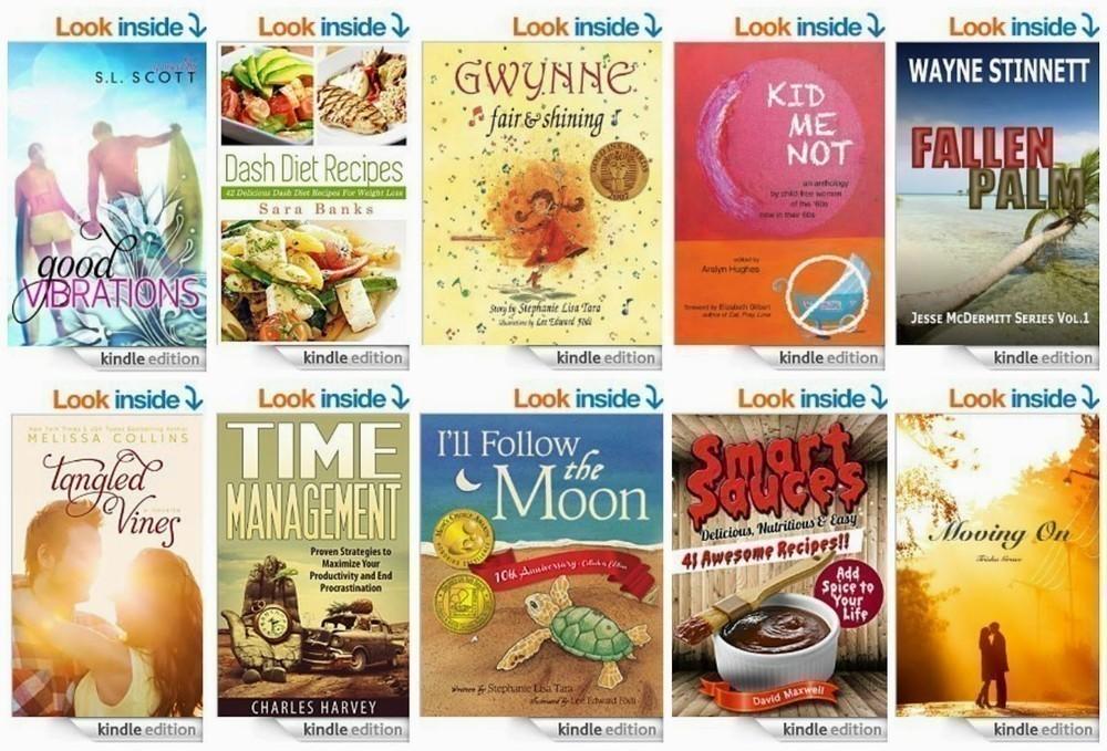 10 Free Kindle Books 1-1-15
