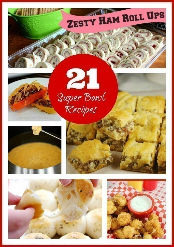 21 SuperBowl Recipes