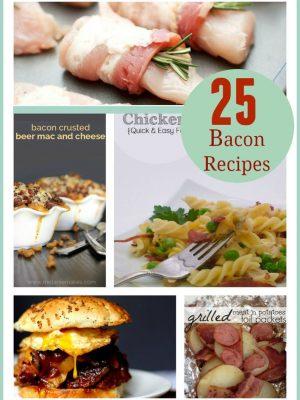 25 Yummy Bacon Recipes