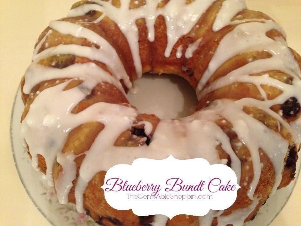 Blueberry Coffee Bundt Cake Recipes