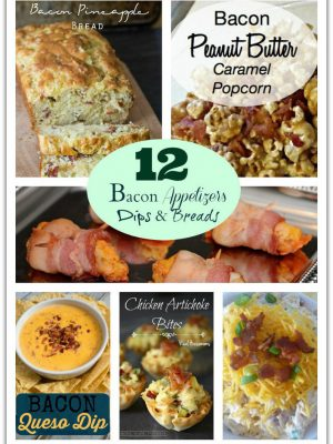 12 Bacon Recipes for Appetizers, Dips & Breads