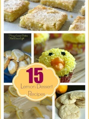 15 Cookie, Pie, and Dessert Recipes to Use All Those Lemons