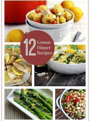 12 Dinner Recipes to Use ALL Those Lemons