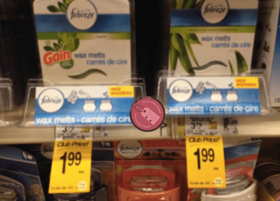 Febreze wax melts coupons