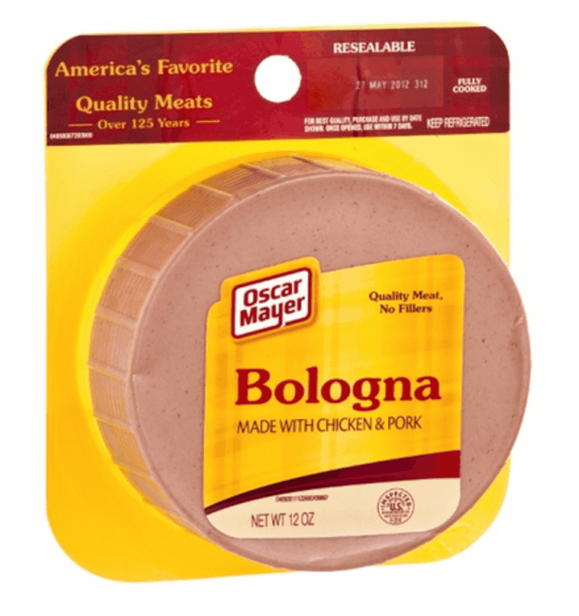 Boars Head Head Cheese as well Frys Oscar Mayer Bologna Just 50 also Historybackground Of Oscar Mayer Lunchables also Bologna sausage in addition Scarlett Johansson 39249p. on oscar meyer bologna