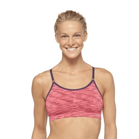 5cb8788c89843 Pick up a NEW Cartwheel offer for 50% OFF C9 by Champion Light Support  Seamless Bports Bras. This one is valid through tomorrow