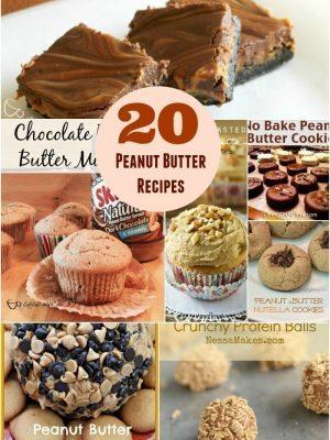 Peanut Butter $.99 at Fry's + 20 Peanut Butter Recipes