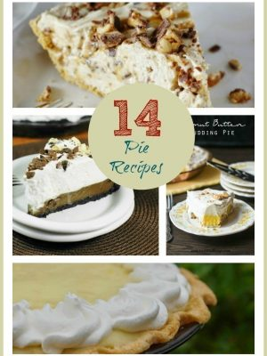 National Pie Day | 14 Pie Recipes from Chocolate to Peanut Butter, Banana & More