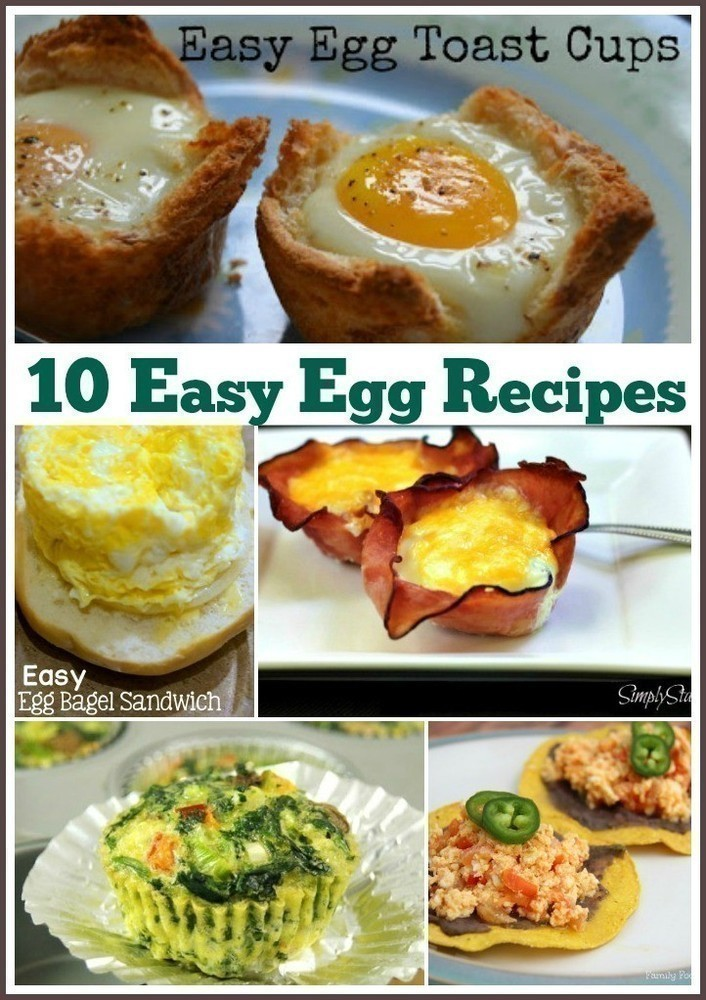 10 Recipes to Use up Lots of Eggs