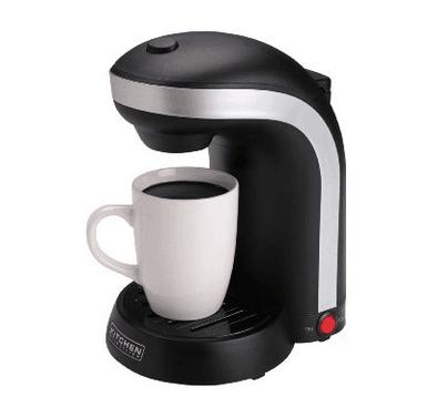 Amazon Kitchen Selectives Single Serve Coffee Maker With Mug 999