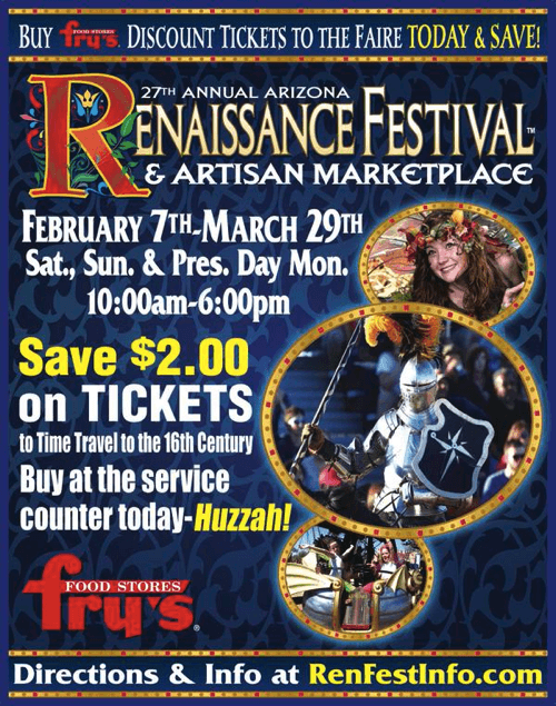 renaissance festival coupons arizona