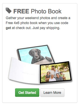 Mailpix: FREE 4×6 Photo Brag Book {Pay ONLY Shipping}