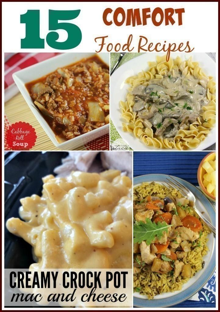 15 Comfort Food Recipes | Cabbage Roll Soup, Slow Cooker Meatloaf & More
