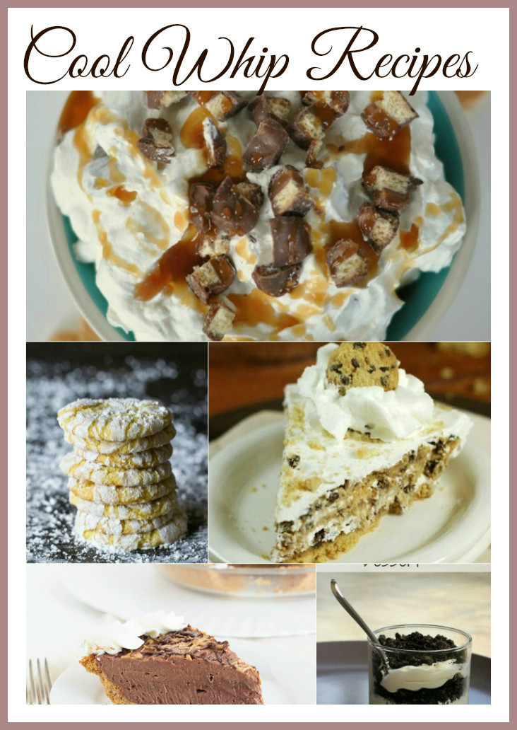 Cool Whip just $.49 + TONS of Cool Whip Recipes