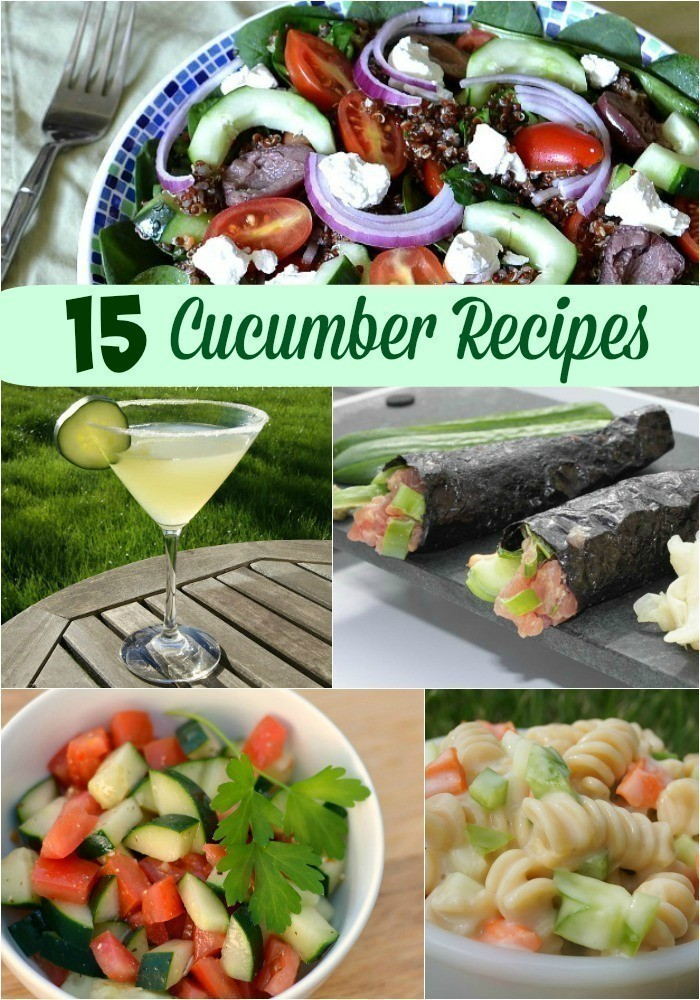 15 Recipes to Use an Abundance of Cucumbers