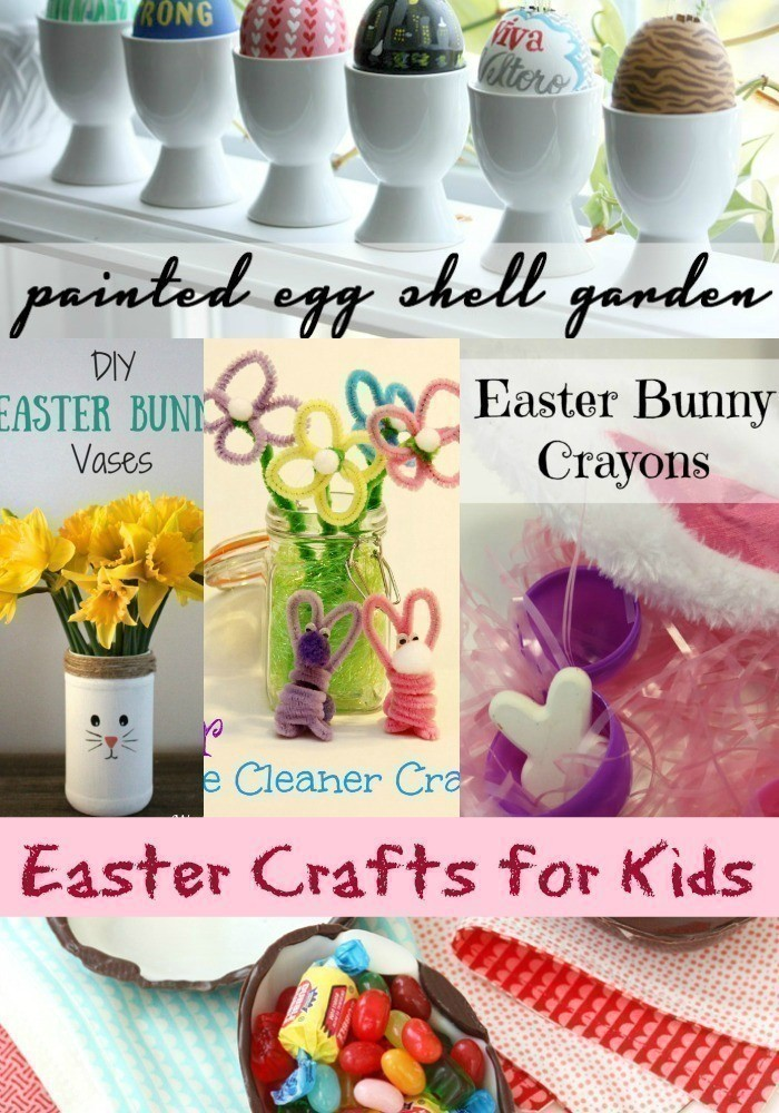16 Fun & Easy Easter Crafts for Kids - The CentsAble Shoppin