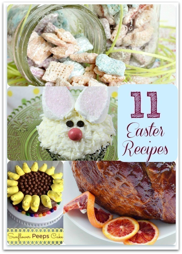 Easter Recipes | Carrot Cake Oatmeal Pies, Muddy Buddies, Easter Cupcakes & More
