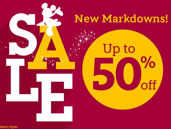 c8e697c05d4f The Disney Store  NEW Markdowns up to 50% OFF