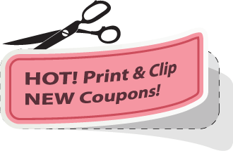 Hot Print & Clip New Coupons - The CentsAble Shoppin