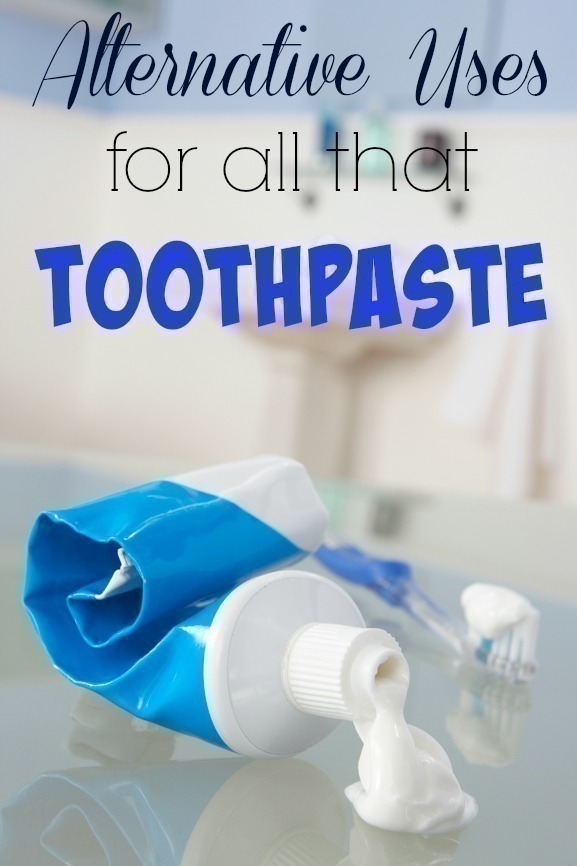 Alternative Uses for TOO Much Toothpaste