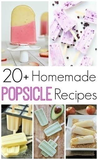 Over 20 Homemade Popsicle Recipes