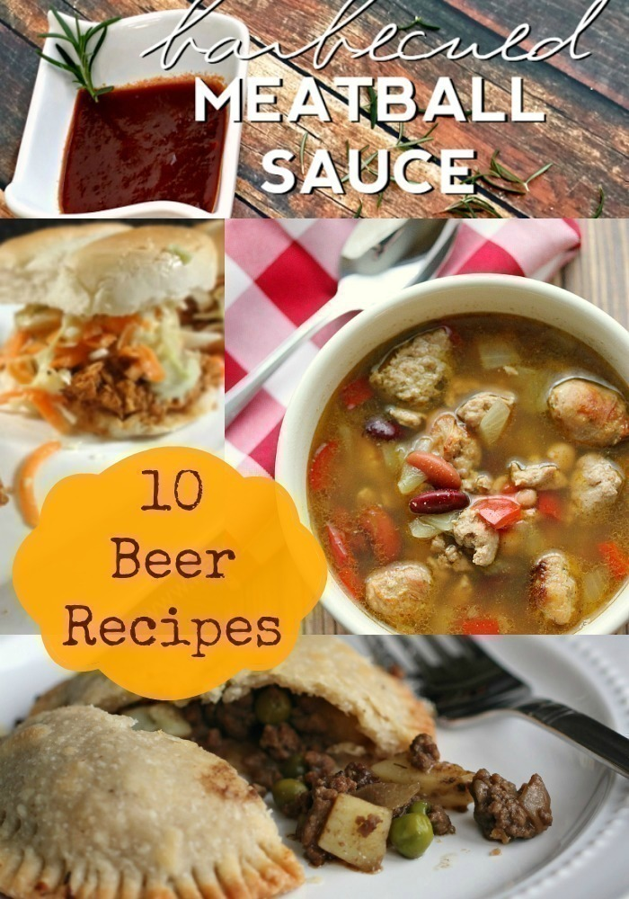 10 Easy Recipes that Use Beer {+ FREE Beer at Safeway & Walmart}