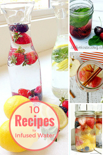 10 Recipes for Fruit Infused Water