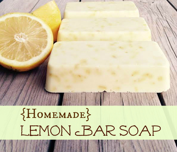 Homemade Lemon Bar Soap - TheCentsAbleShoppin.com