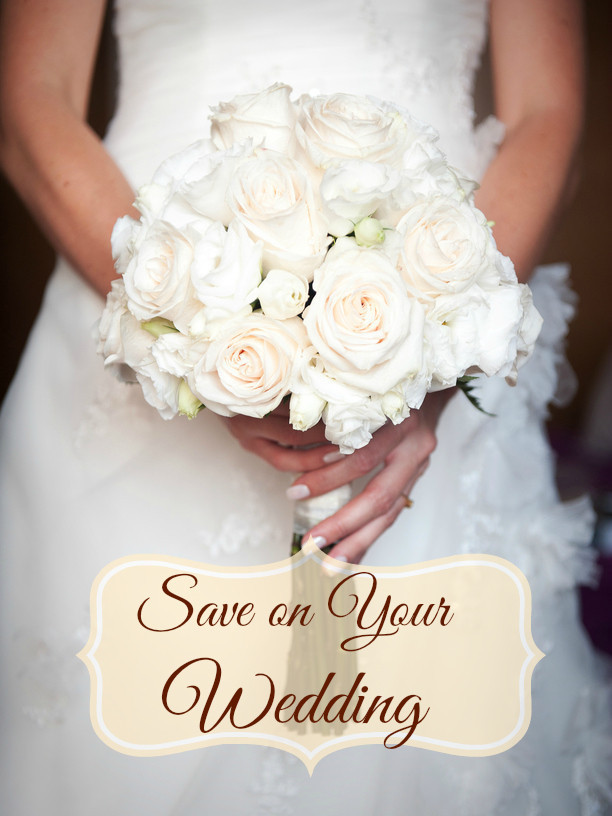 3 Ways to Save on Your Wedding