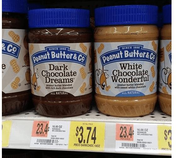 Walmart: Peanut Butter & Co. Peanut Butter $.24