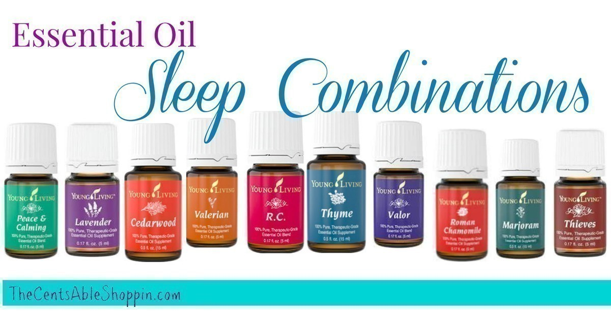 8 Essential Oil Sleep Combinations