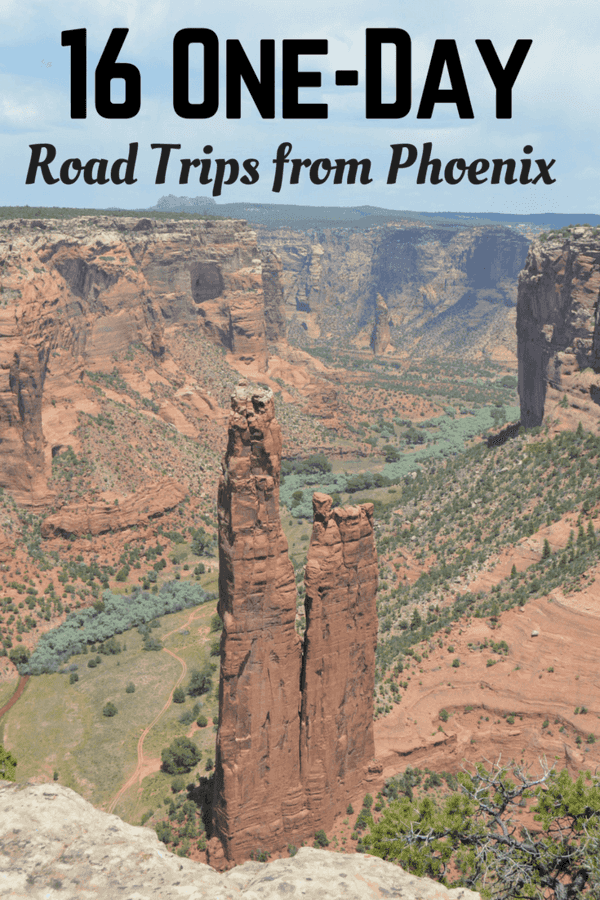 Arizona is a beautiful state - so much to see and do! Bookmark 16 One-Day Road Trips you can make from Phoenix!