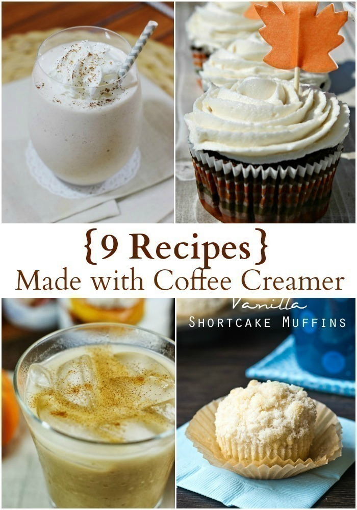 9 Recipes Made with Coffee Creamer {+ 8 Unique Ways to Use Too Much!}