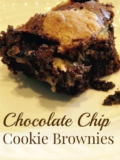 Easy Chocolate Chip Cookie Brownies