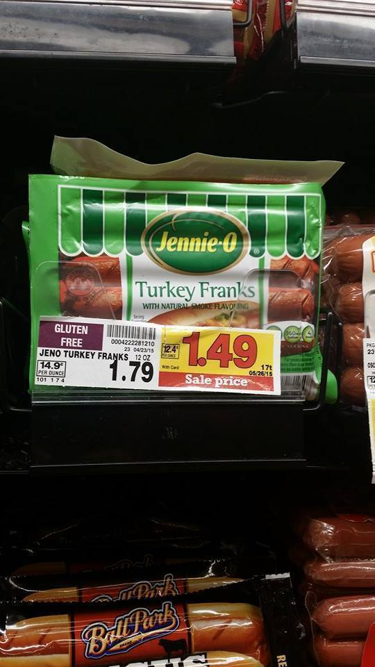 how to cook jennie o turkey franks