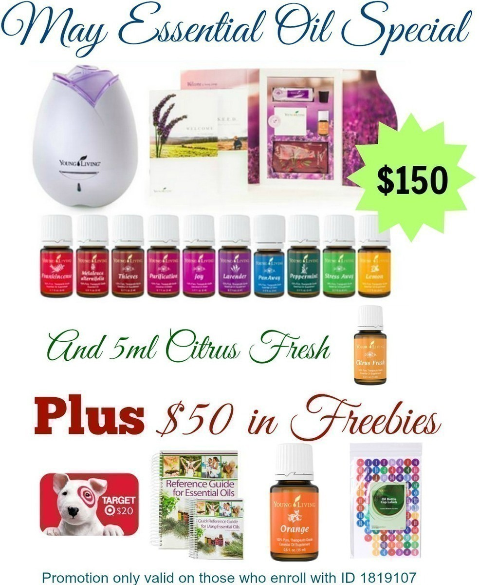 May Young Living Special